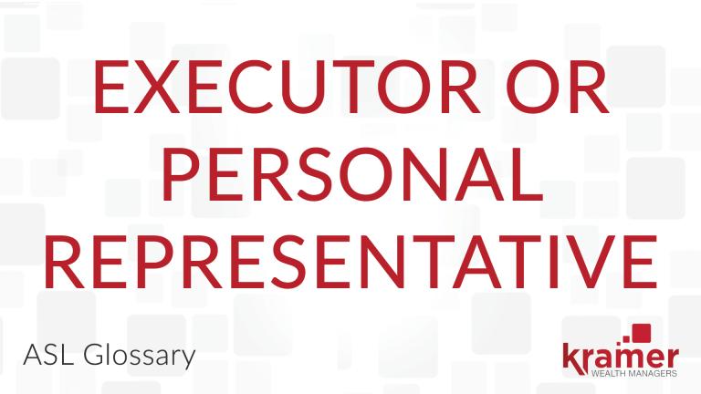 Executor-or-Personal-Representative