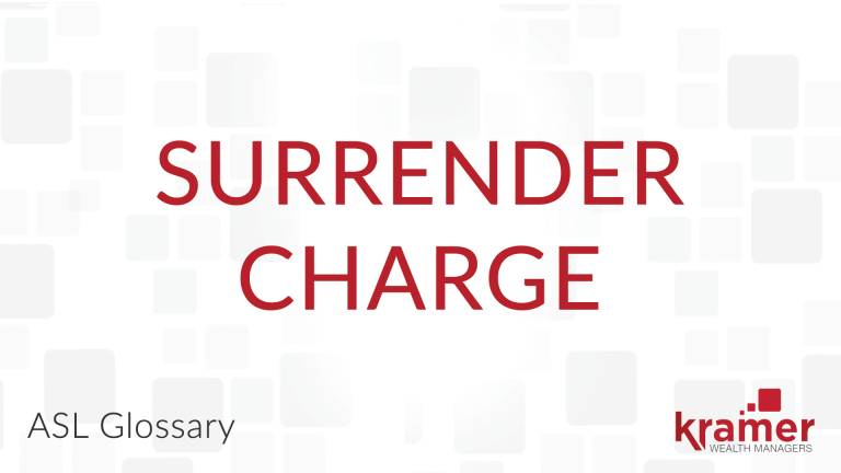 Surrender-Charge