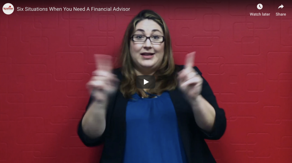Six Situations When You Need A Financial Advisor